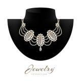 Biżuterii kolia Fotografia Stock