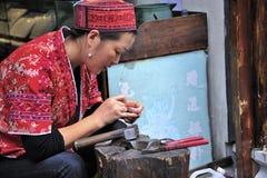 biżuterii miao narodowości pracownik obrazy royalty free