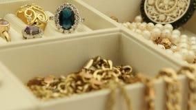 Biżuterii ostrości przesunięcie zbiory wideo