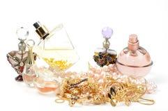 biżuterii pachnidła Obrazy Royalty Free