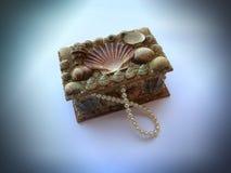 Biżuterii pudełko Zdjęcia Royalty Free