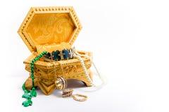 Biżuterii pudełko od Rosja 3 Obrazy Stock