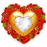 biżuterii róże Zdjęcia Stock