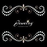 Biżuterii rama Fotografia Royalty Free