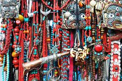 biżuterii tibetan Zdjęcia Stock