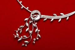 biżuterii z diamentem Zdjęcie Royalty Free