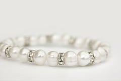 biżuteryjna perła Zdjęcia Royalty Free