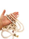 biżuteryjna ręki ofiara Obrazy Royalty Free