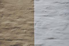 Bi-colors. A bi-colors wall Royalty Free Stock Image