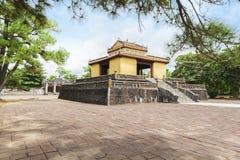 Bi Dinh w Minh Mang Królewskim grobowu - stela pawilon - Obrazy Stock