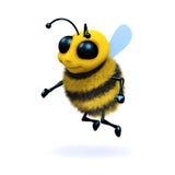 bi för honung 3d vektor illustrationer