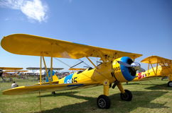 BI Flugzeug Lizenzfreies Stockbild