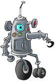 Bi-fröskida robot vektor illustrationer