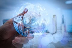 (BI) inteligencja i biznesowe analityka z kluczowym performan (półdupki) obrazy royalty free