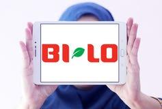 BI-LO sieci supermarketów logo Obraz Stock