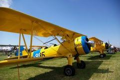 BI Plane. On display at Oostwold airshow 2009 Stock Photos