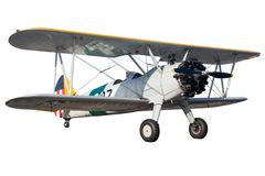 Bi plane Royalty Free Stock Image