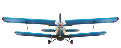 Bi plane royalty free stock photo