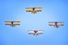 Bi-plane Stock Images