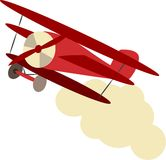 Bi-Plane Royalty Free Stock Photos