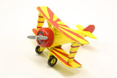 bi samolotu zabawka Zdjęcie Stock