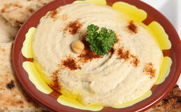 Bi Tahini de Hummus Image stock