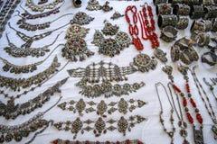 Biżuteria festiwalu ath yenni zdjęcia royalty free