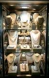 Biżuterie, sklepowa wystawa. Obraz Royalty Free