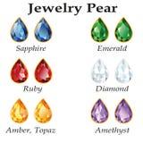 Biżuterii bonkreta. Odosobneni przedmioty Zdjęcie Stock