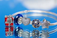 Biżuterii bransoletka Zdjęcia Stock
