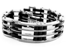 Biżuterii bransoletka bangle 375 magna stal nierdzewna 04 Fotografia Stock