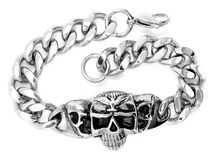 Biżuterii bransoletka bangle 375 magna stal nierdzewna 04 Fotografia Royalty Free