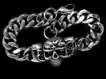 Biżuterii bransoletka bangle 375 magna stal nierdzewna 04 Zdjęcia Stock