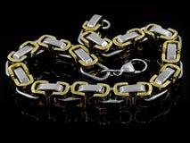Biżuterii bransoletka bangle 375 magna stal nierdzewna 04 Zdjęcie Stock
