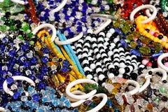 biżuterii rynku kram Zdjęcia Stock