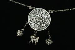 biżuterii srebro Fotografia Royalty Free