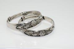 biżuterii srebro Obraz Stock