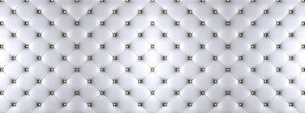 Biała łóżkowa tekstura zdjęcie stock