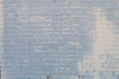 Biała ściana z cegieł w ostrości obraz stock