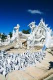 Biała świątynia Fotografia Stock