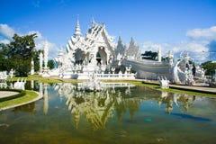 Biała świątynia Zdjęcia Royalty Free