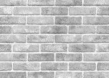 Biała cegły płytki ściana Fotografia Royalty Free