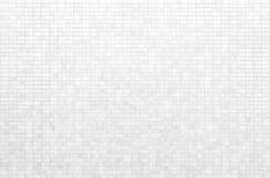 Biała cegły płytki ściana lub Biała dachówkowa podłoga zdjęcia royalty free