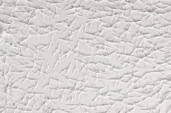 Biała dekoracyjna abstrakcjonistyczna tynk tekstura z pęknięciami, pluśnięcie, odciski stopy Obraz Royalty Free