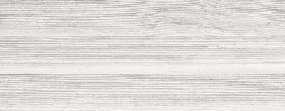 Biała drewniana deska jako tekstura i tło Zdjęcie Royalty Free