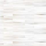 Biała drewniana parkietowa podłoga. + EPS10 Fotografia Royalty Free
