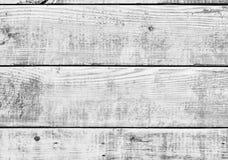 Biała drewniana rocznik deski podłoga ściany powierzchnia zdjęcie royalty free