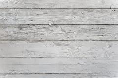 Biały drewno Zdjęcia Royalty Free