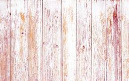 Biała drewniana tekstura z naturalnym wzoru tłem Zdjęcia Stock