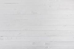 Biała drewniana tekstura z przestrzenią i tło zdjęcie stock